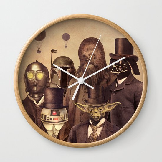 Victorian Wars  Wall Clock