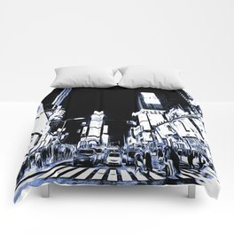 Times Square Art Comforters