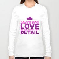 downton abbey Long Sleeve T-shirts featuring Downton Abbey (Branson) by Park is Park