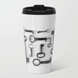 Skeleton Keys Metal Travel Mug