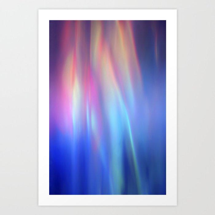 Heavenly lights in water of Life-3 Art Print