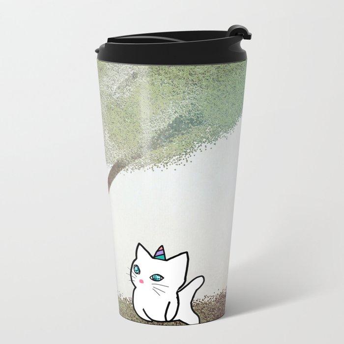 cat-17 Metal Travel Mug