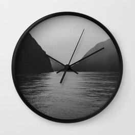 milford mist Wall Clock