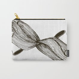 twins with mobius hairs Carry-All Pouch