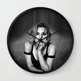 Scarlett Johansson - Celebrity Art Wall Clock