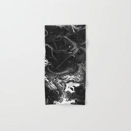 // MARBLED BLACK // Hand & Bath Towel