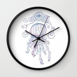 Deep Sea Jelly Wall Clock