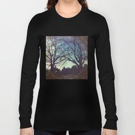 Long Road Home - America As Vintage Album Art Long Sleeve T-shirt