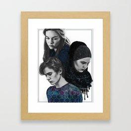SKAM hard times Framed Art Print