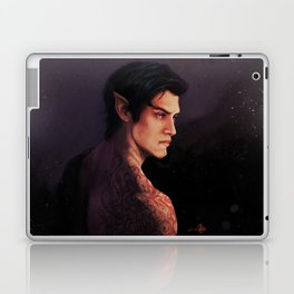 Rhysand Rhys Court of Thorns and Roses portrait Laptop & iPad Skin