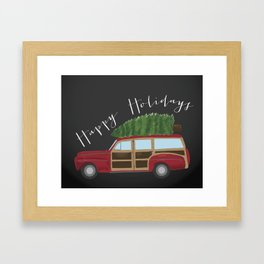 A Merry Griswald Christmas Framed Art Print