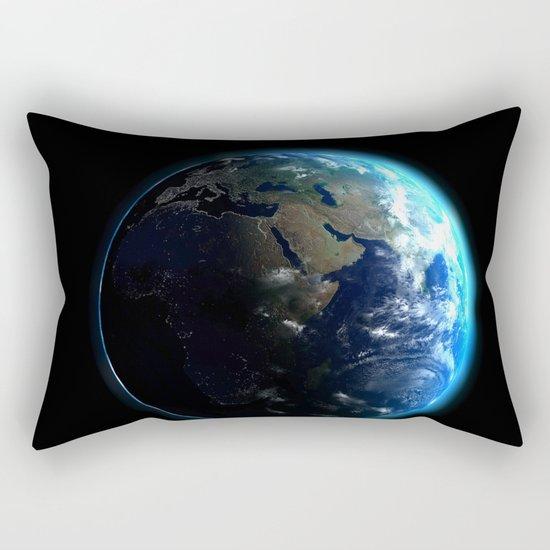 Dark Side of the Earth Rectangular Pillow