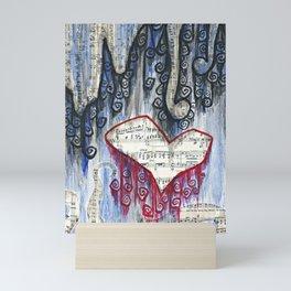 Heart Song Mini Art Print