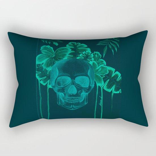 Skull jungle Rectangular Pillow