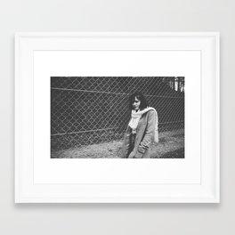 november i. Framed Art Print