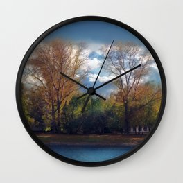 Colors of autumn Wall Clock