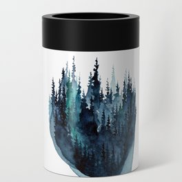 Turquoise Glow - Pine Forest Can Cooler