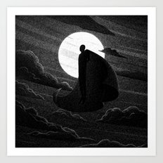 Drawlloween 2016: Vampire Art Print