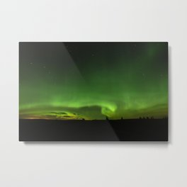 Natures Night Lights. Metal Print
