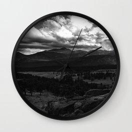 Longs Peak - Rocky Mountain National Park Wall Clock