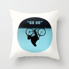 GO DO Throw Pillow