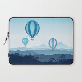 Hot air balloons - blue mountains Laptop Sleeve