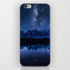 Night mountains iPhone & iPod Skin