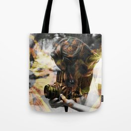 The Floral Photographer Tote Bag