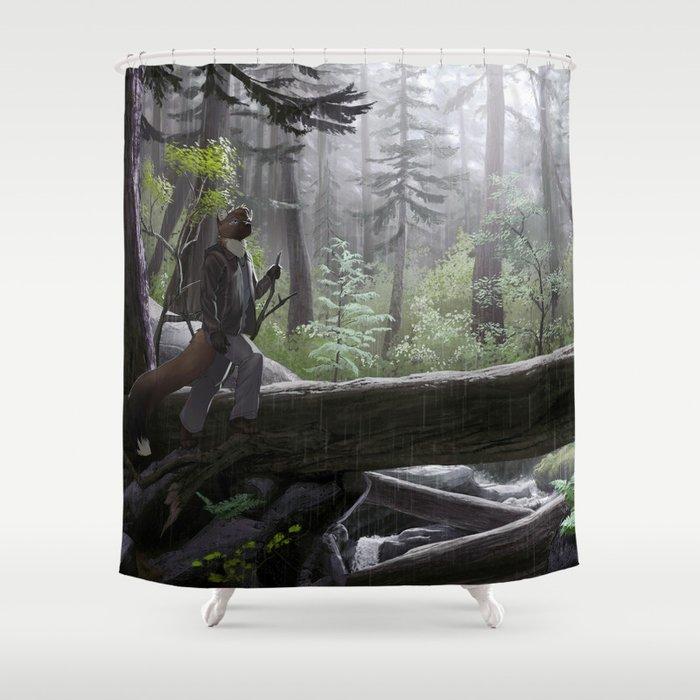 Coastal Rainforest Shower Curtain