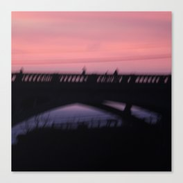 Ghosts at Sunset. Canvas Print