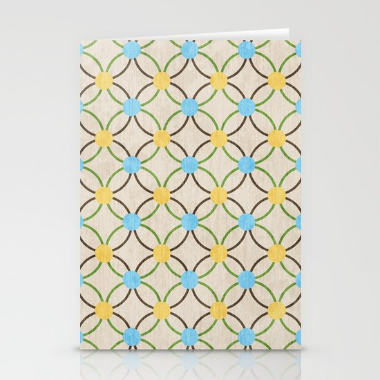 English Country Pattern. Stationery Cards