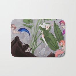 Tank mermaid Bath Mat