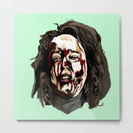 Bloody Annie Wilkes - Misery (Green) Metal Print