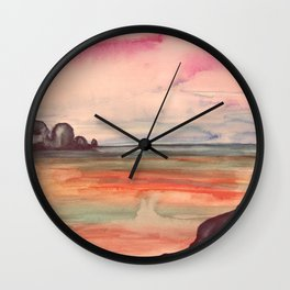 Melancholic Landscape Wall Clock