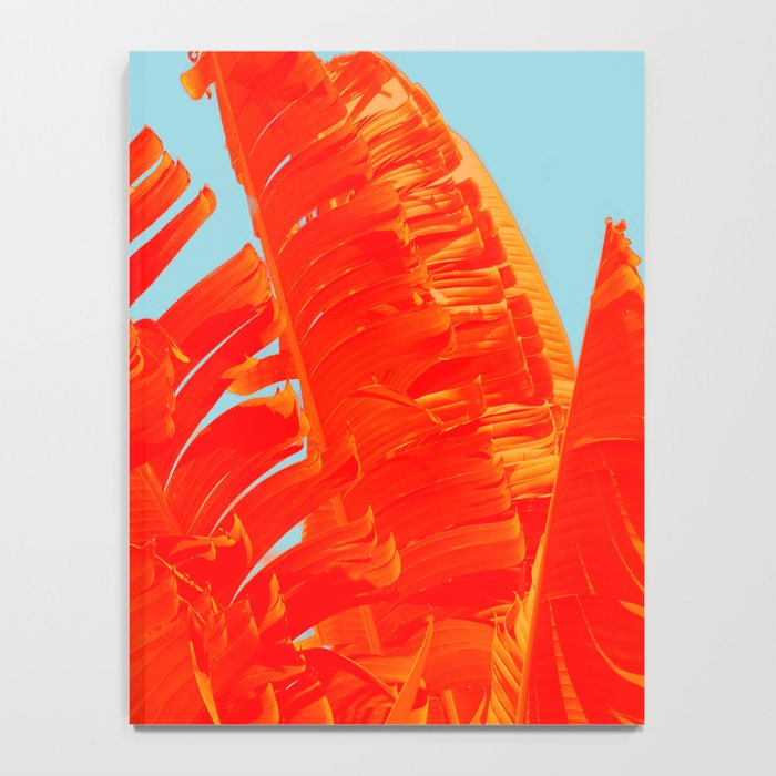 Flame On Island Paradise Notebook
