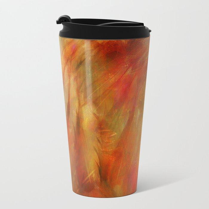 Native American Metal Travel Mug