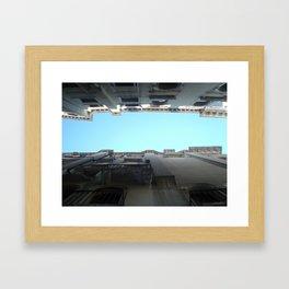 Gondola View Framed Art Print