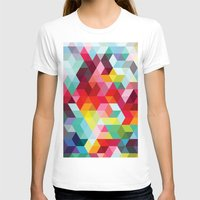 sublime T-shirts featuring sublime geometries 01 by Sarah Joy Nikkel