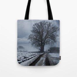 Foggy winter day II Tote Bag