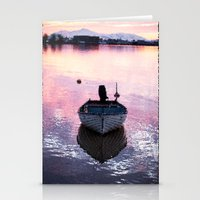 boat Stationery Cards featuring Boat by Dora Birgis
