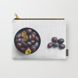 Fruits In White Space Carry-All Pouch
