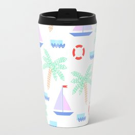 Mosaic summer 03 Travel Mug