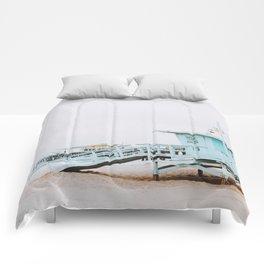 santa monica, california Comforters