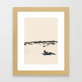 beach nostalgia Framed Art Print