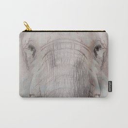 Foraging Elephant Carry-All Pouch