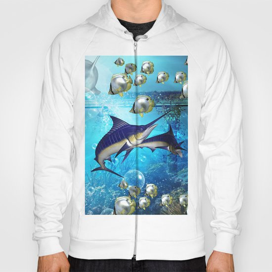 Underwater world Hoody