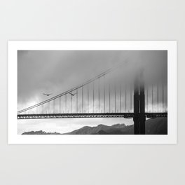 Gray Bay Art Print