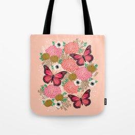 Monarch Florals by Andrea Lauren  Tote Bag