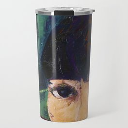 AT THE WINDOW Travel Mug