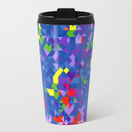 Geometry Sea Travel Mug